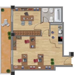 Distribuci n en planta proyecto empresarial 2 0 for Diseno de oficinas pequenas planos