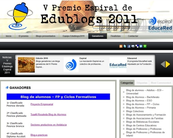 V Premios Espiral 2011